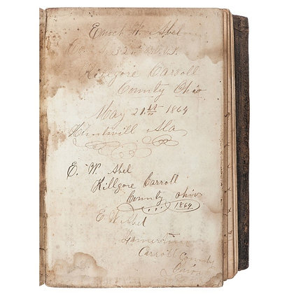 Diary of 32nd Ohio Volunteer Infantry soldier, Enoch W. Abel
