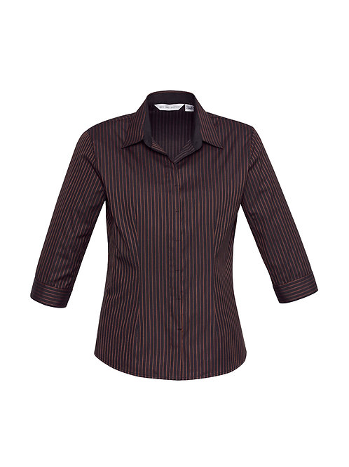 Ladies Reno Stripe Shirt - Biz Collection