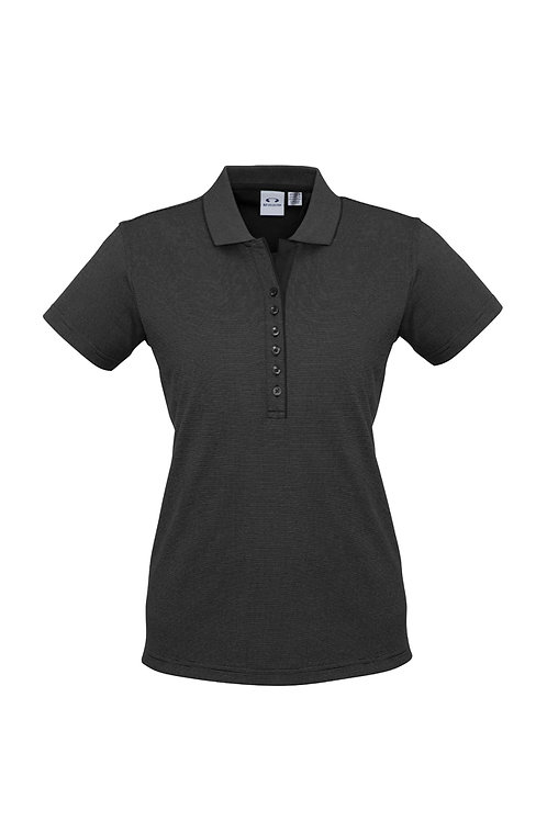 Ladies Shadow Polo - Biz Collection