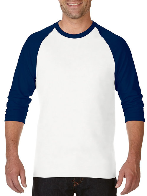 Gildan® Heavy Cotton™  Adult 3/4 Raglan T-Shirt