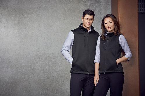 Men's Soft Shell Vest - Biz Collection