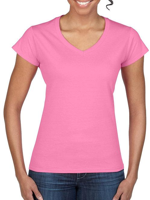 Gildan Softstyle®  Ladies' V-Neck T-Shirt