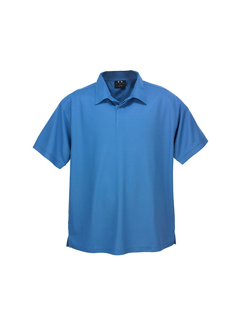 Men's Micro Waffle Polo - Biz Collection