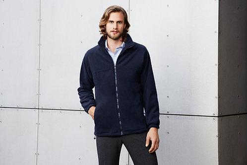Men's Plain Micro Fleece Jacket - Biz Collection