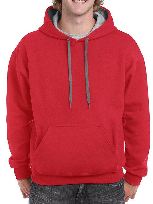 Gildan® Heavy Blend™  Adult Contrast Hooded Sweatshirt