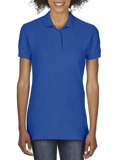 Gildan® Premium Cotton™  Ladies' Double Piqué Sport Shirt