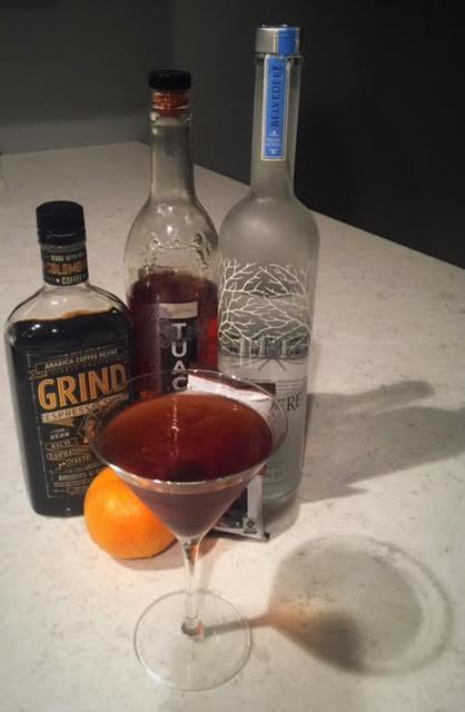 The Espresso Martini: Dark & Delicious