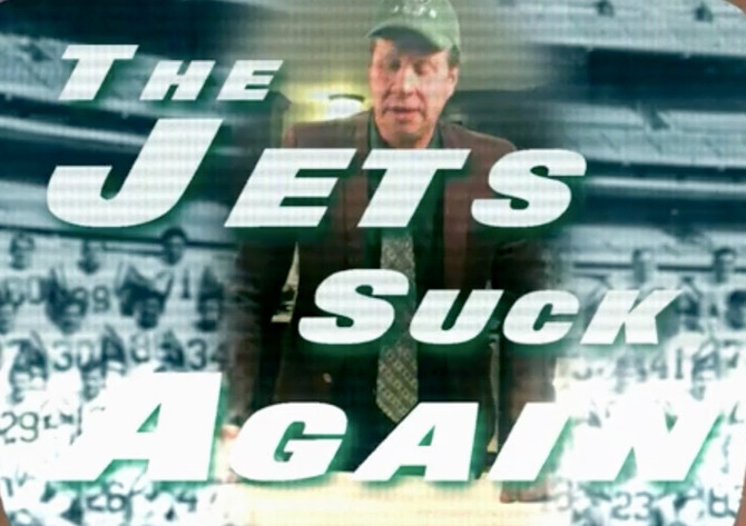 The Jets Suck Again: A Sour Cocktail (& Video) for Another Season of Suckatude