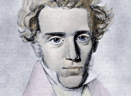 Art, Kierkegaard, & that O with the Line Through It