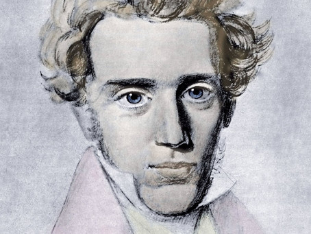 Art, Kierkegaard, & that O with the Line Through It