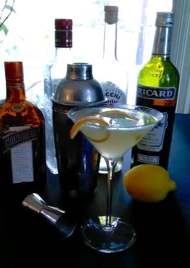 Retro Cocktail for September:  Corpse Reviver No. 2