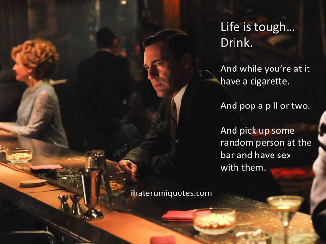 Anomie: A Cocktail of Alienation, Inebriation, & Some Marvelous Mad Men Memes