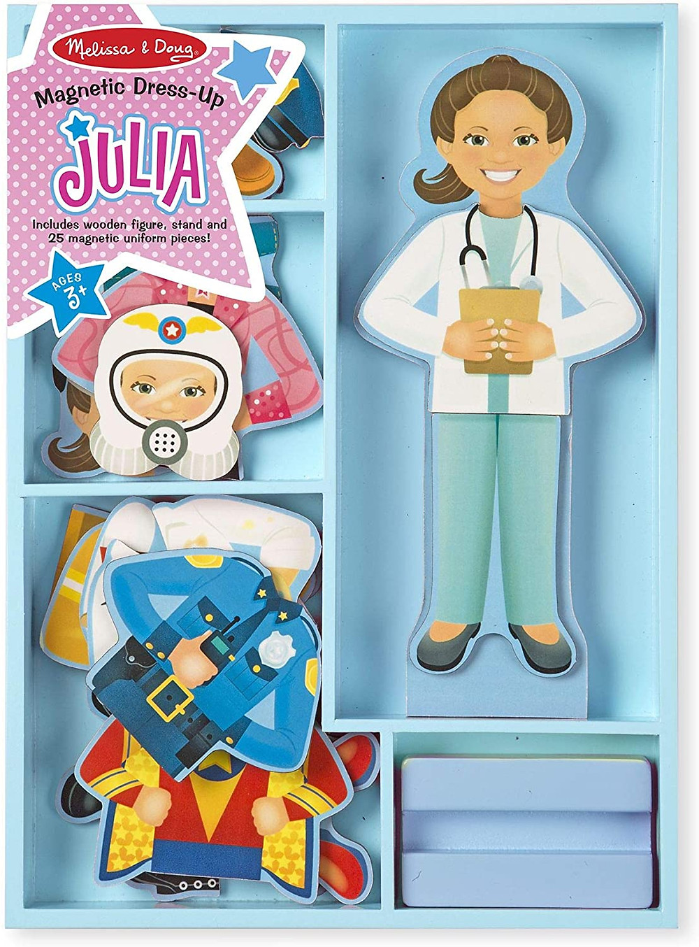 product photo of melissa and doug magnetic dress-up set