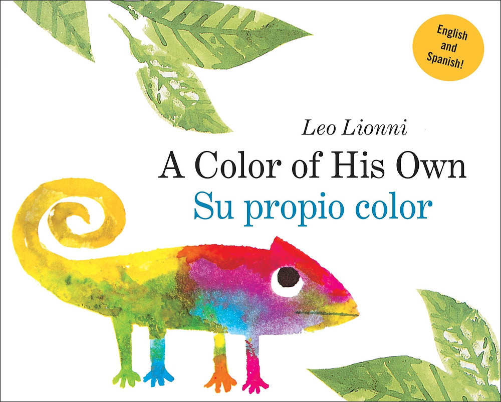 A color of his own bilingual book for baby