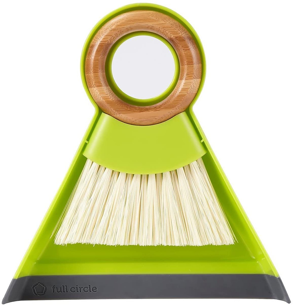 product photo of mini bush and dustpan set for toddlers