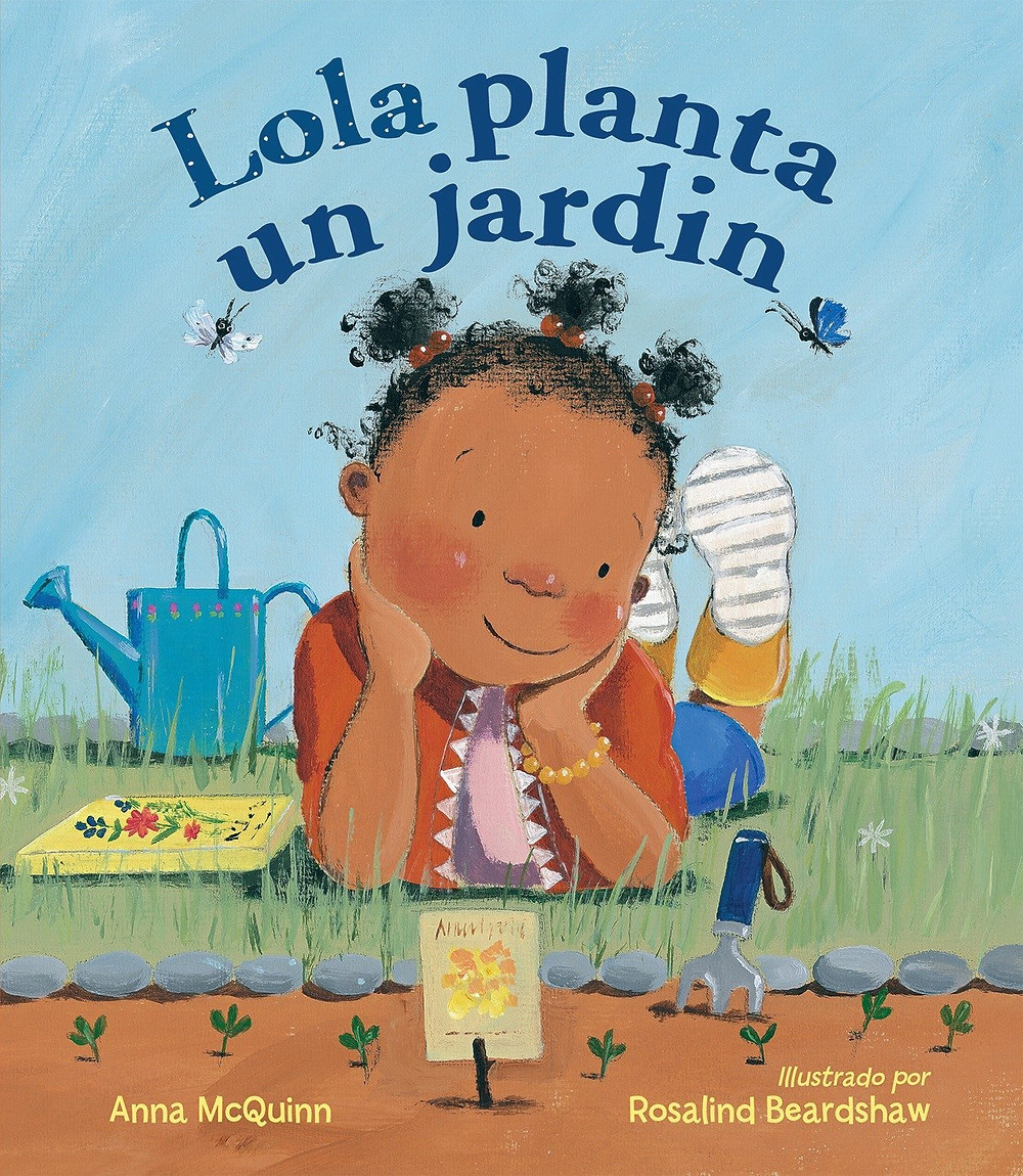 Book cover of Lola Plants a Garden book