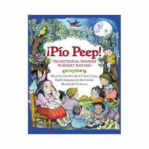 Book Cover of Pio Peep traditional Spanish nursery rhymes