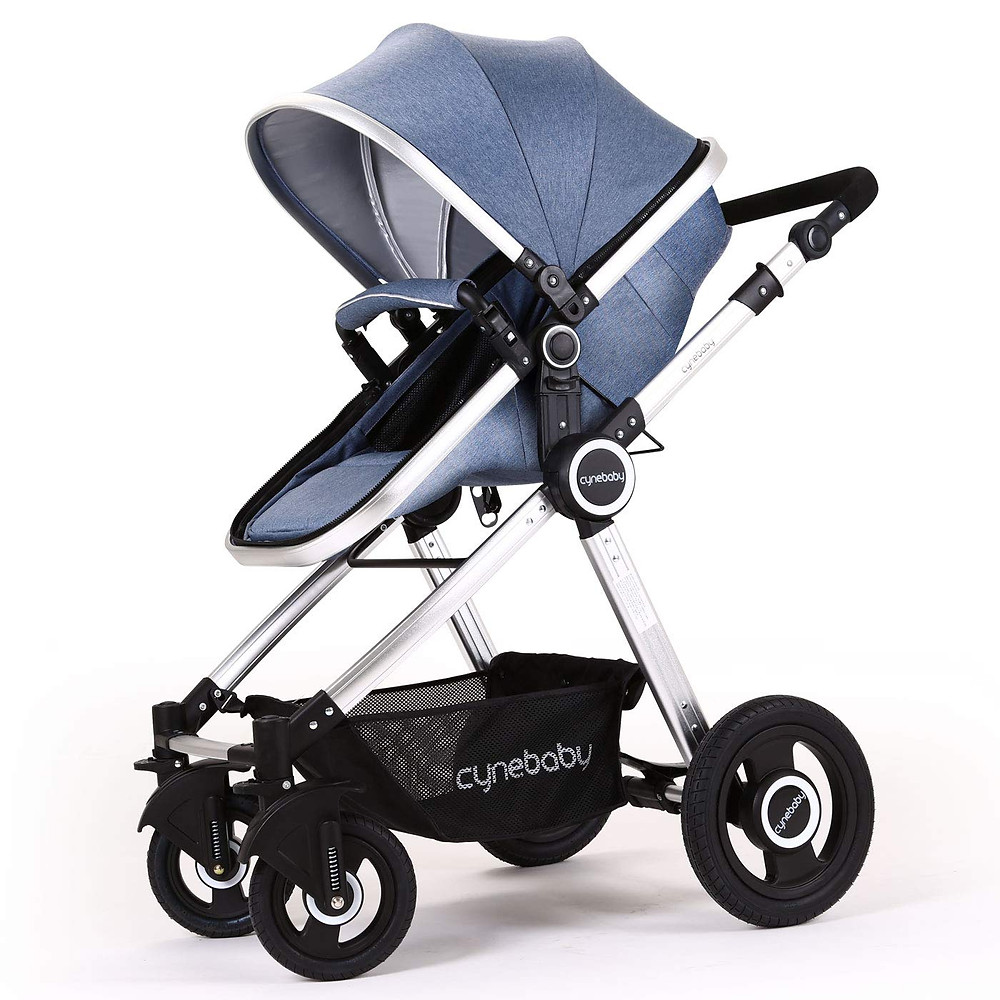 product photo of blue cynebaby infant stroller