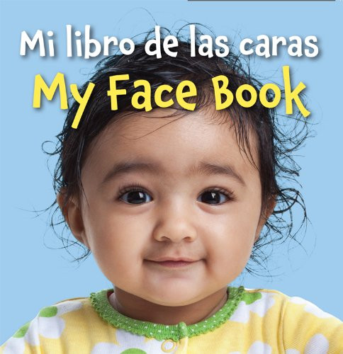 Book cover of bilinugal baby board book My Face Book