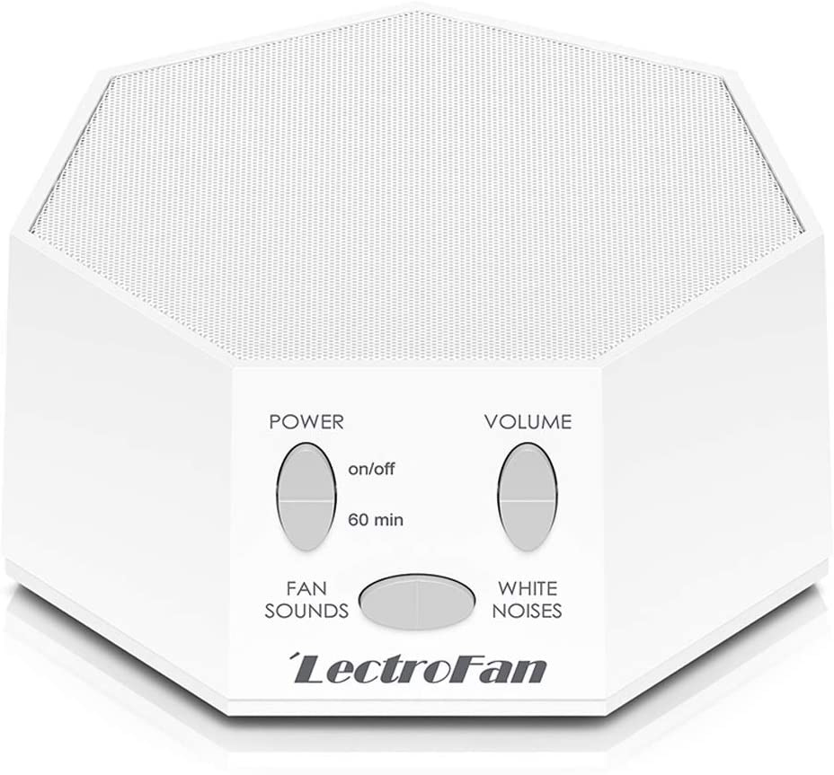 Product photo of white LectroFan sound machine