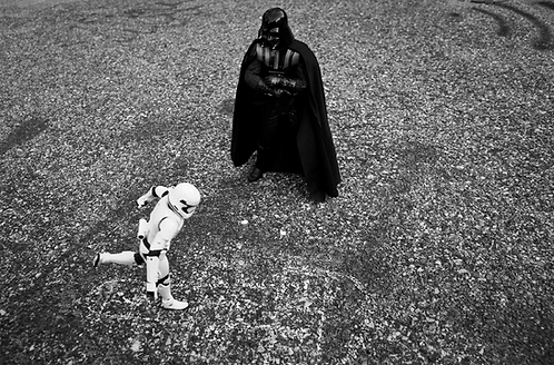 """Gericho - Vador & Trooper """"Trooper learning the force"""""""