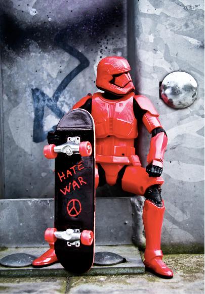 """Gericho - Trooper """"Hate war"""""""