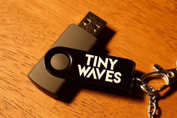 Tiny Waves Pre-Loaded USB Drive (16 GB)