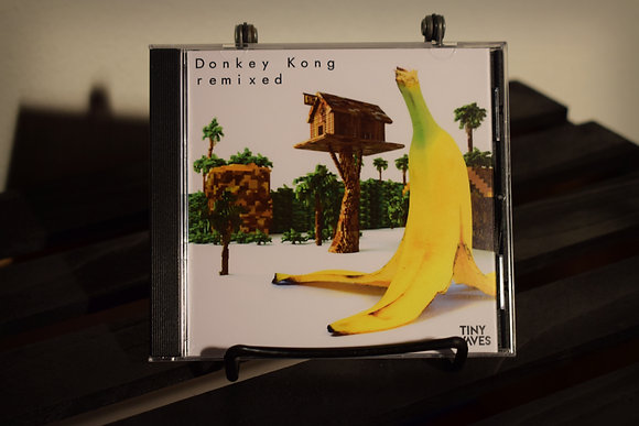 "Tiny Waves ""Donkey Kong Remixed"" Physical CD"