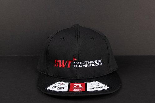 Flat Bill Hat (Black)