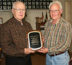 Historical Society Board Members Retire After Long Tenures of Service