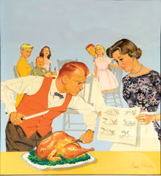 Carving Turkey