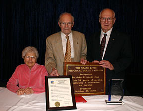 Long-Time Museum Curator Honored for Service