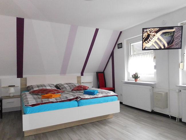www.haus-leer.com, Schlafzimmer 4, Ferns