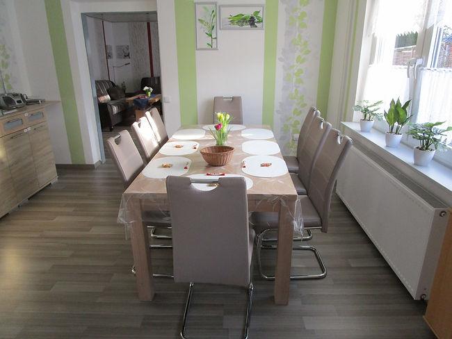 Esszimmer, Stuhl, Tisch, Ferienhaus, Fer