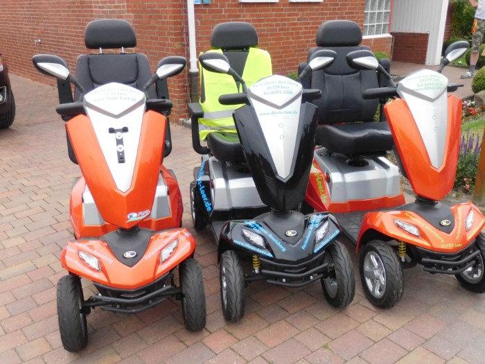 Das Highlight : Scooter Elektromobil kostenlos für unsere Gäste im Ferienhaus Amelsberg oder der FEWO Leer
