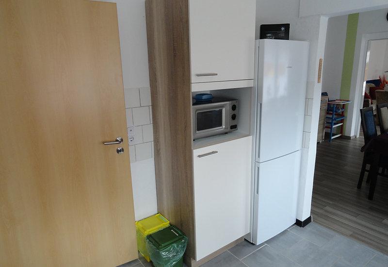 Küchenansicht im 4 Sterne Komfort Ferienhaus Amelsberg in 26789 Leer in Ostfriesland