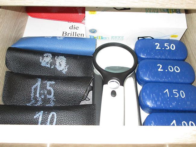 Brille, Lupe, Lesehilfe, Ferienhaus, Fer