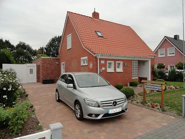 Eine Ansicht vom 4 Sterne Komfort  Ferienhaus Amelsberg in 26789 Leer Ostfriesland
