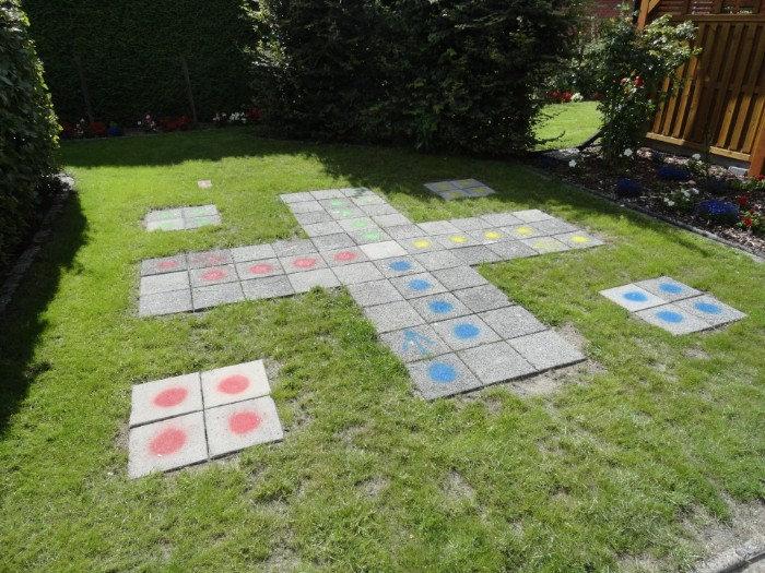 Spielen im Garten erlaubt