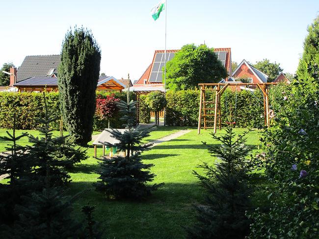 Garten Fewo Ferienhaus Ferienwohnung Ame