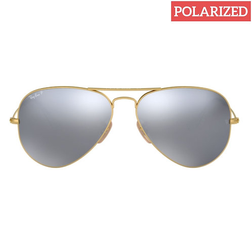 Ray-Ban RB 3025 Aviator 112/W3 Size:58 Polarized
