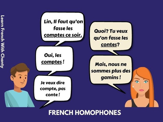 Never mix up again these common words that sound the same in French