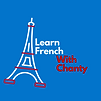Logo Learn French  With Chanty Logo