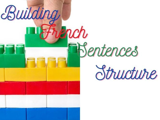 The simple way of building French sentence Structure