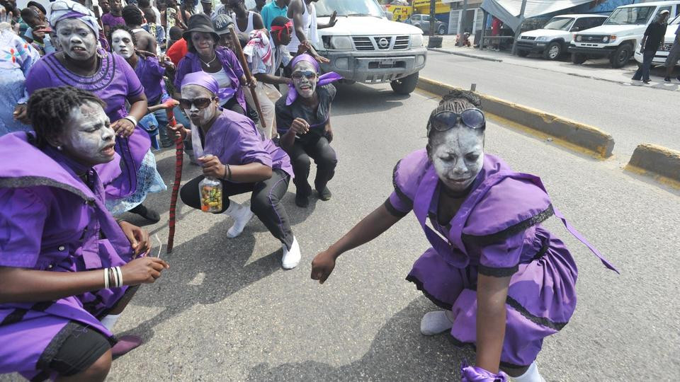 Halloween celebration in Haiti fete des guedes