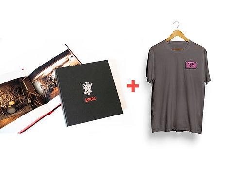 Livro + Print + Camiseta Áspera