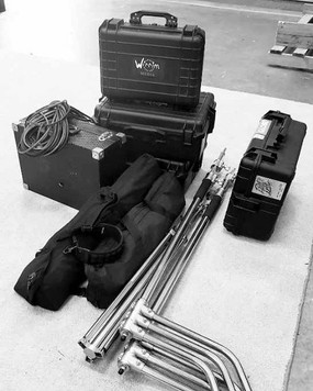 Packed and ready. _Another day another s