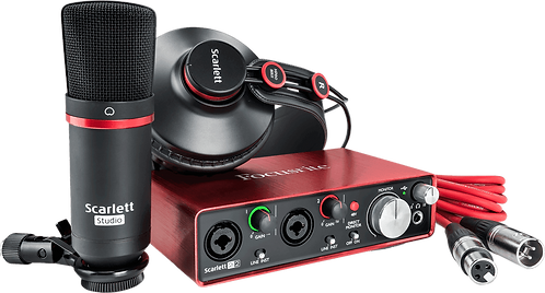 FOCUSRITE SCARLETT 2 STUDIO PACK