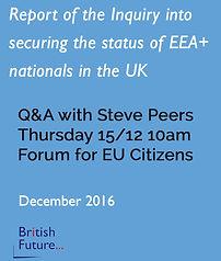 Transcript Q&A with Steve Peers