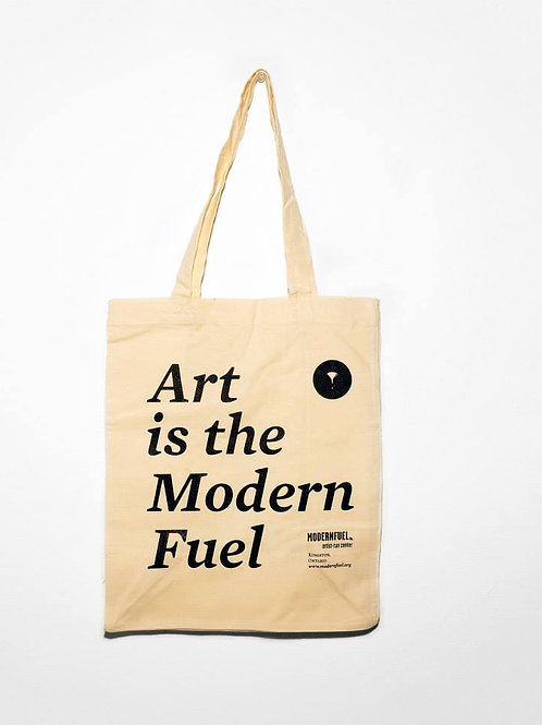 """""""Art is the Modern Fuel"""" Tote Bag"""